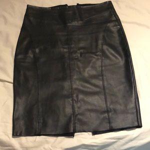 Express black size 8 skirt